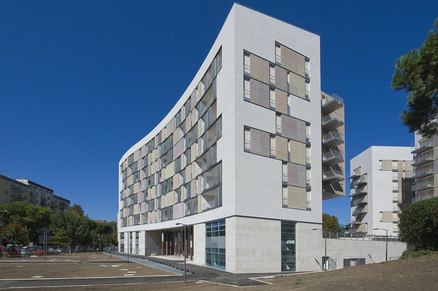 Complesso residenziale in viale giustiniano - Portale architetti roma ...