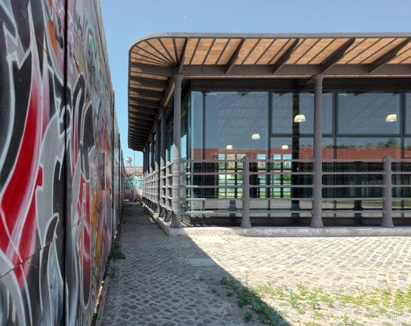 Accademia di belle arti all ex mattatoio il - Portale architetti roma ...